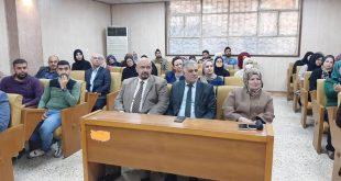 دوة توعوية أقامها معهد المنصور عن فيروس كورونا حاضرت فيها ال.ا.م الدكتورة شذى احمد محمد علي رئيسة قسم تقنيات الأدلة الجنائية